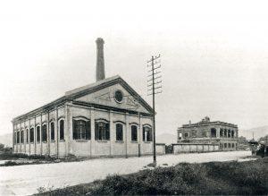 中电首座发电厂位于漆咸道(1903年)